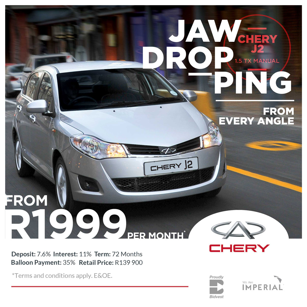 Chery J2 - Jaw-dropping from every angle