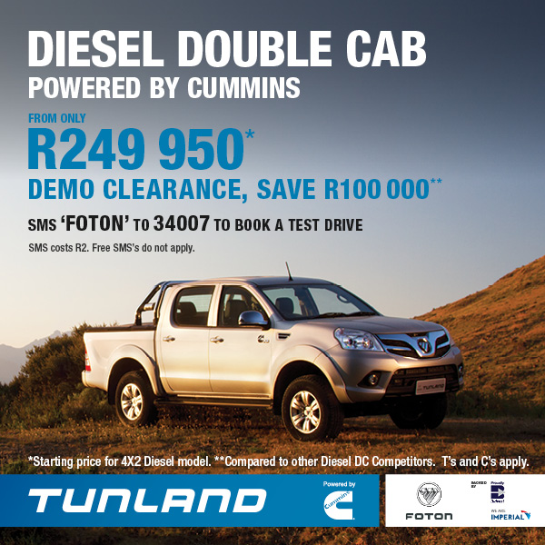 Diesel Double Cab - From only 249 950