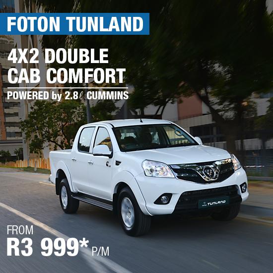 4x2 Double Cab Comfort